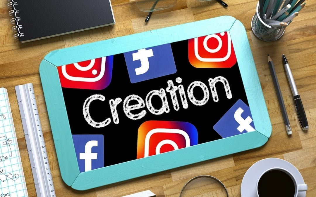"""social media creation with logos image"""
