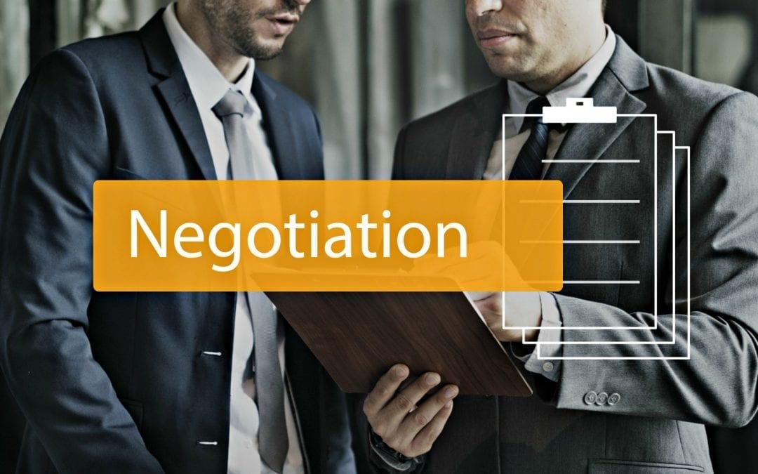 """""""how to negotiate in business image with people negotiating"""""""