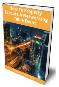 """how to properly execute a networking event"""